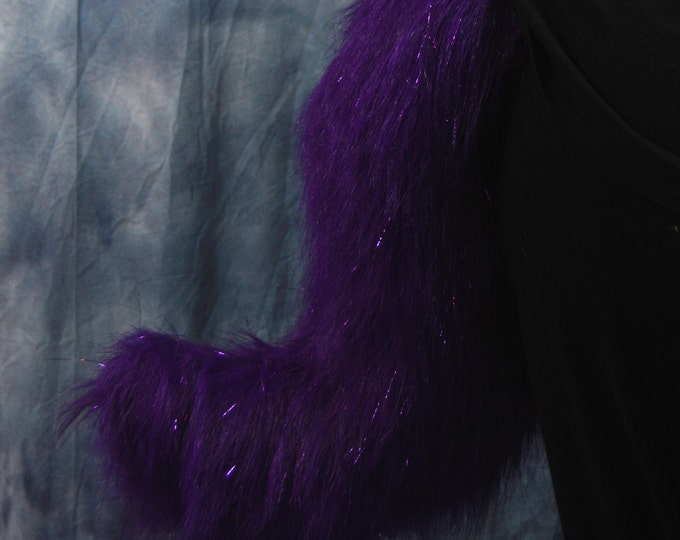CUSTOM: Sparkle Canine/Fox Fursuit Tail