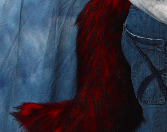 CUSTOM: Solid Color Husky Fur Tail