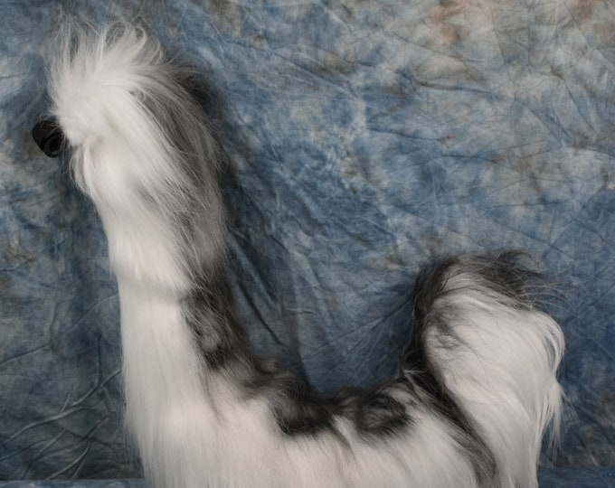 Ready to Ship: Snow Leopard Tail