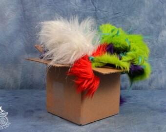 Small  High Quality Scrap Fur Box