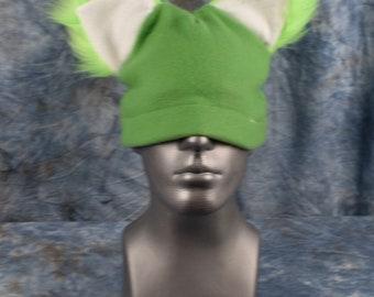 Lime Green Ear Beanie