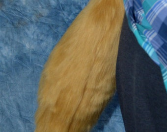 Choose your Colors: Mini Tails (Fox tipped or Solid color)