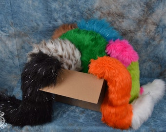 Wolf or Fox Tail Surprise Box