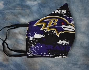 Baltimore Ravens NFL Face Mask