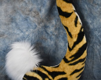 READY TO SHIP!!! Tiger/Cat Tail with Curve