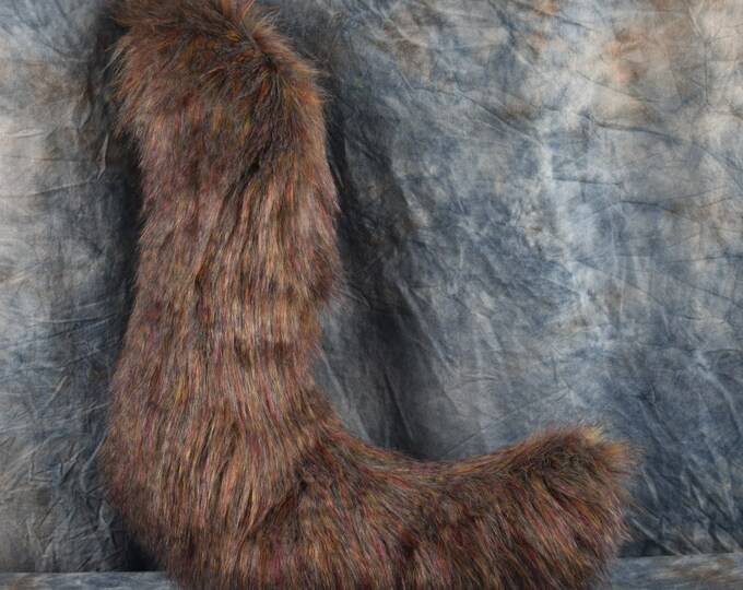 Jumbo Multi-tone Brown Fursuit Tail
