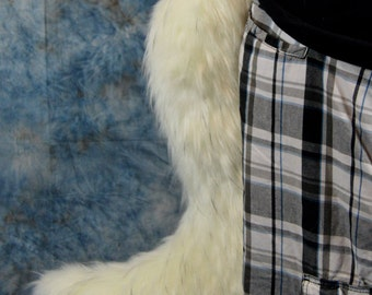Choose your Color: Jumbo Wolf Fursuit Tail