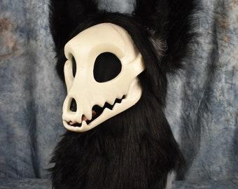 Custom: Toony Skull Fursuit Head