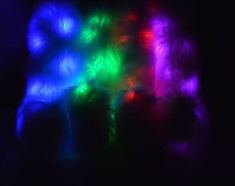 LED Glow Wolf/Fox Tail