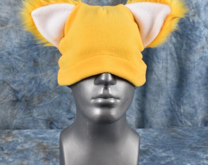 Yellow Ear Beanie