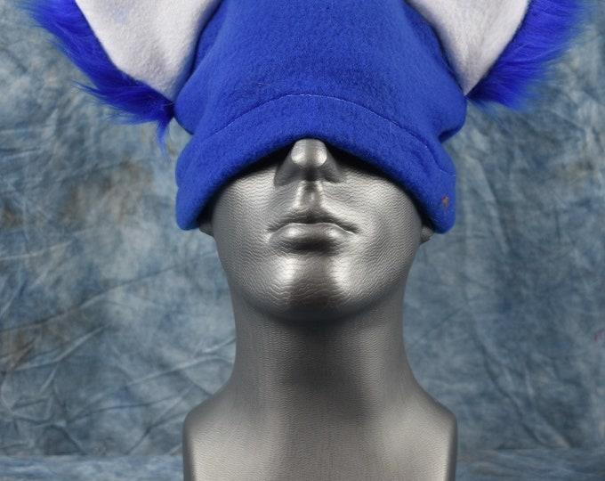 Royal Blue Wolf Ear Beanie