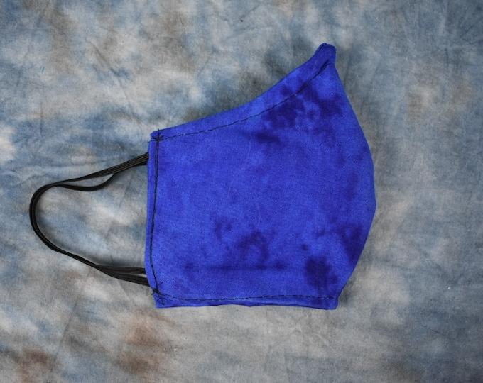 Blue Splotches Face Mask