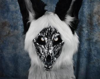 Premade -Skulldog Fursuit head