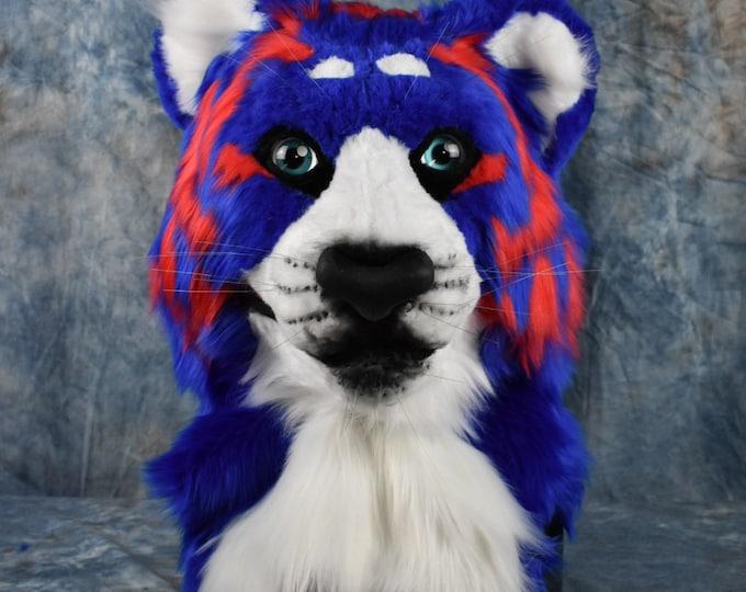 Custom: Feline/Cat Fursuit Head Commission