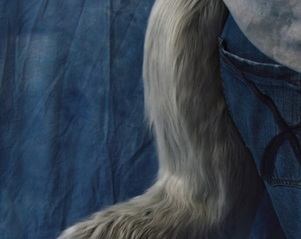 Choose your Color: Solid Color Canine/Fox Fursuit tail