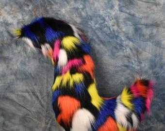 Multi-color Fursuit Tail