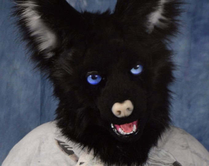 Custom: Canine/Fox/Wolf Fursuit Head Commission
