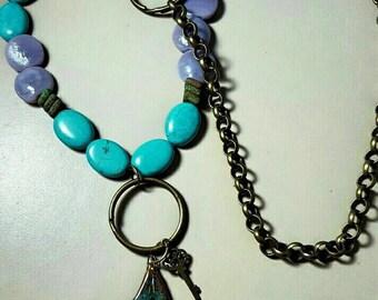 Double Arrow Pendant Necklace