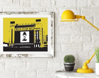 Baltic Centre of Contemporary Art Print. Architectural Print