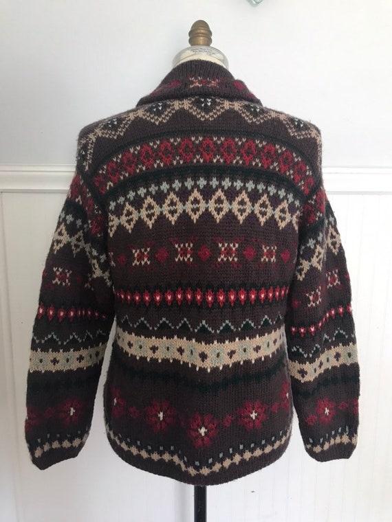 Ralph Lauren Sweater Coat Hand knit Ralph Lauren … - image 6
