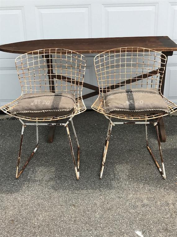 Genial Vintage Bertoia Chairs Pair Mid Century Mid Century Modern | Etsy