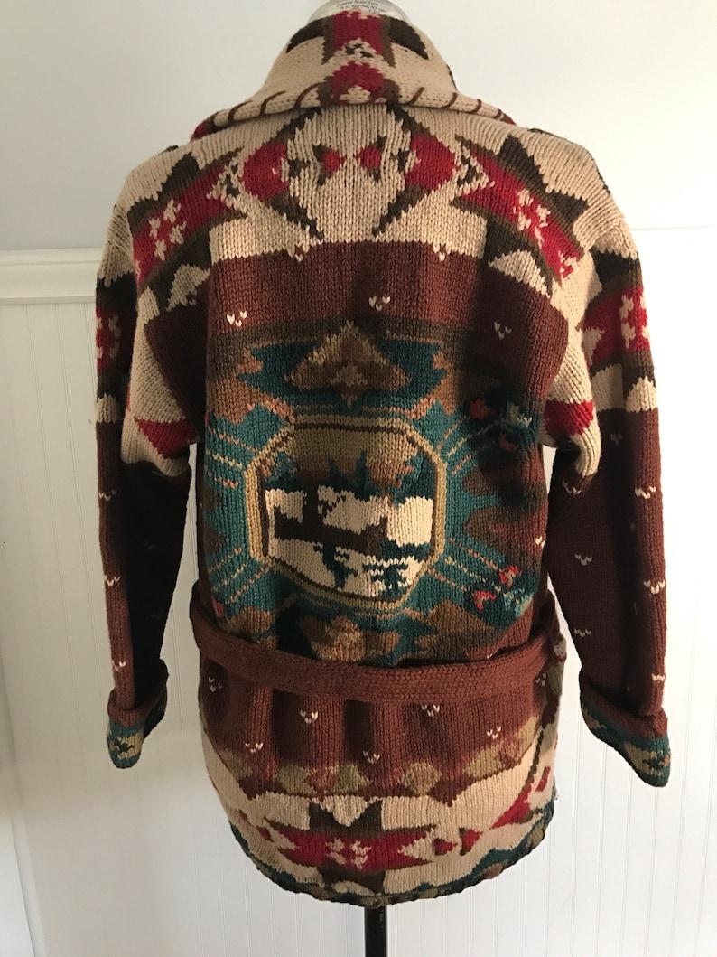 ba76f628e Ralph Lauren Sweater Coat Hand knit Ralph Lauren Hand knit M