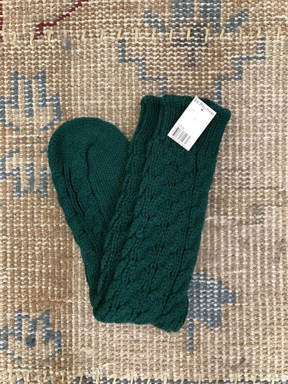 Ralph Lauren Hand knit Socks Wool Vintage Cable Po