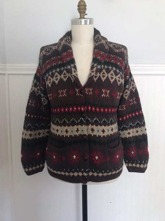 Ralph Lauren Sweater Coat Hand knit Ralph Lauren … - image 2