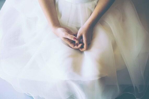 Short Lace Wedding Dress 2 Piece Wedding Dress Short Organza Etsy