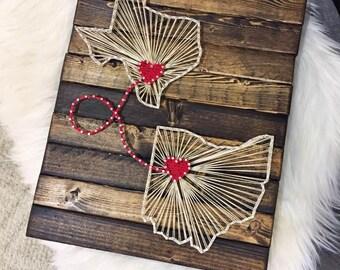 String Art String Art Sign Wood Sign Nail Art Nails And Etsy