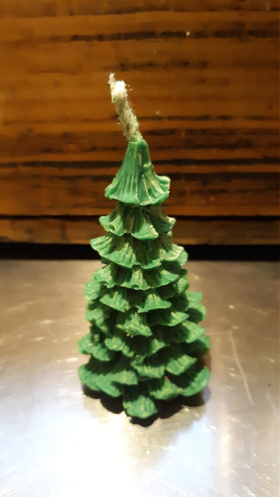 Soy Christmas Tree Candles