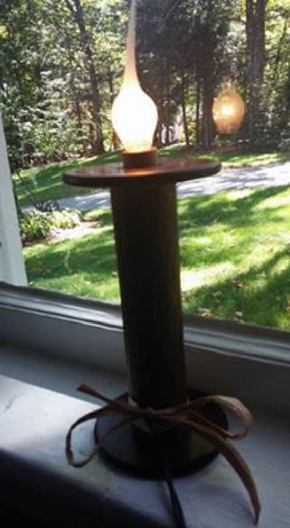 Vintage Bobbin Spool Light