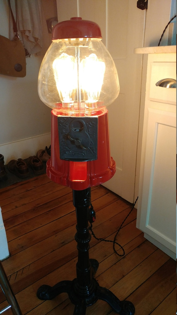 Bubble Gum Machine Lamp