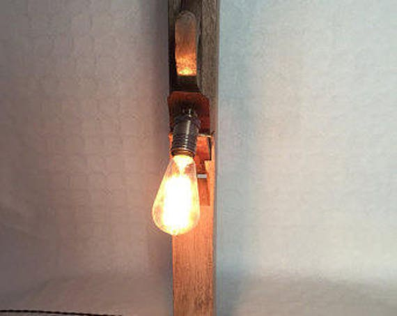 Hand planer wall light