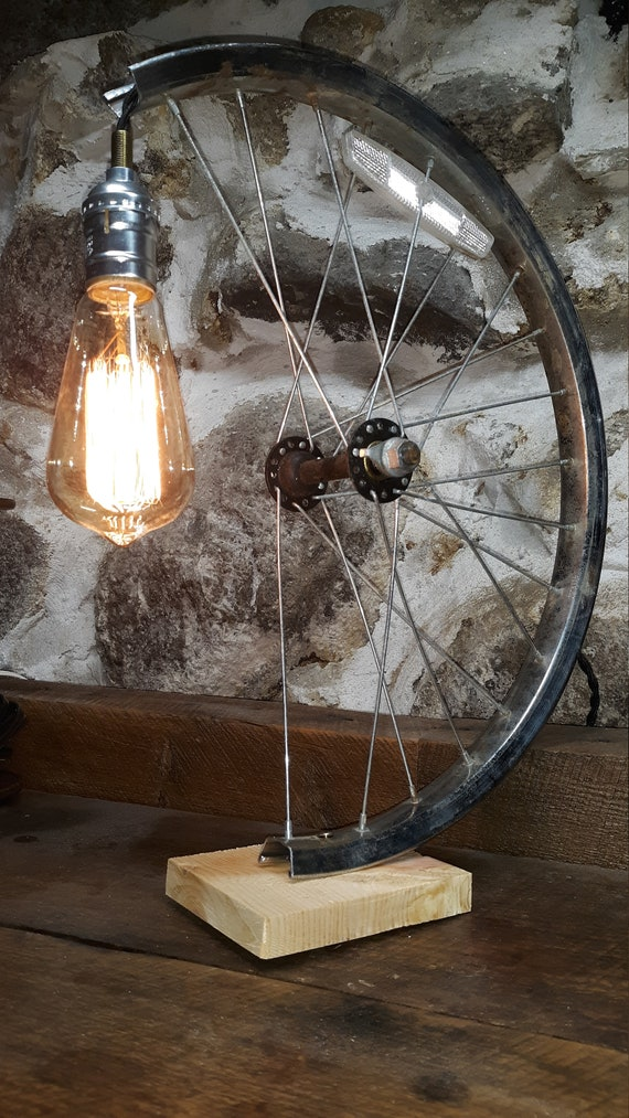 Bike Rim Lamp Light fixture