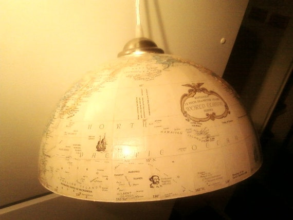 Globe swag Light