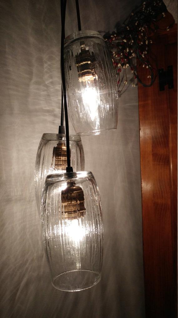 Candle holder pendant light