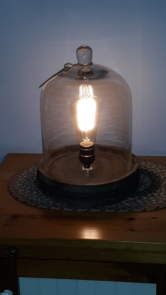 Dome Glass Lamp