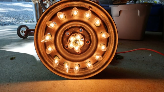 Car Tire Rim Light