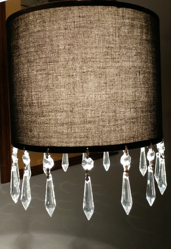 Black lampshade hanging Light