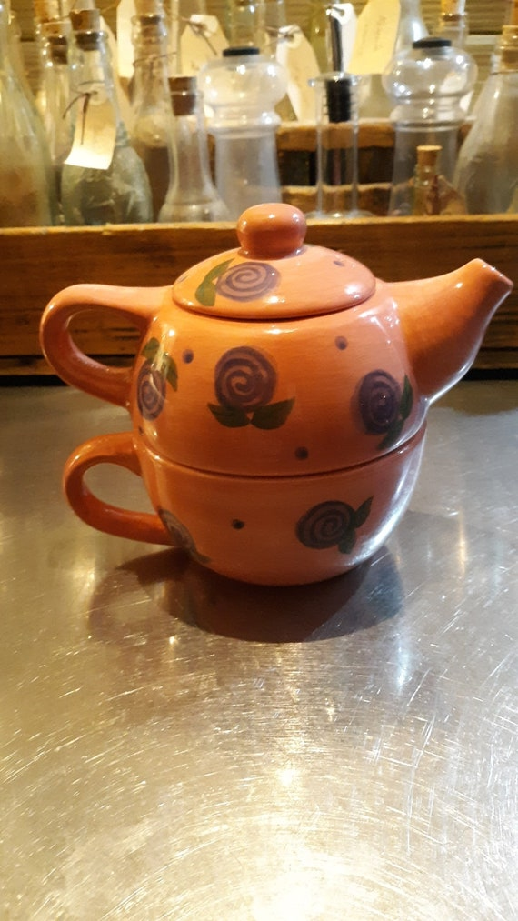Soy Tea Pot Candle