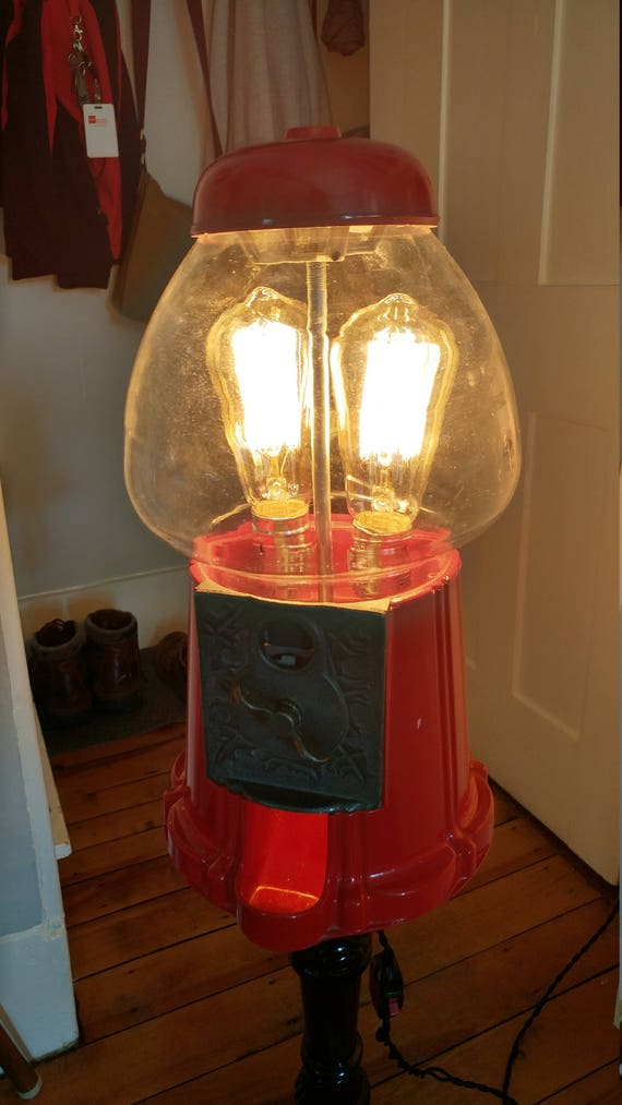Bubble Gum Machine Table Lamp