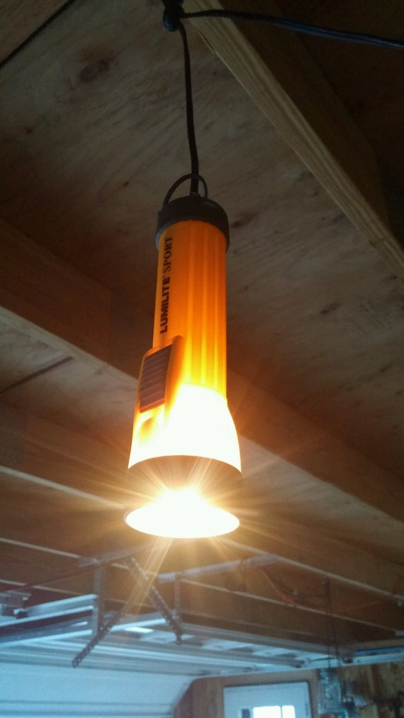 Flashlight pendant Light