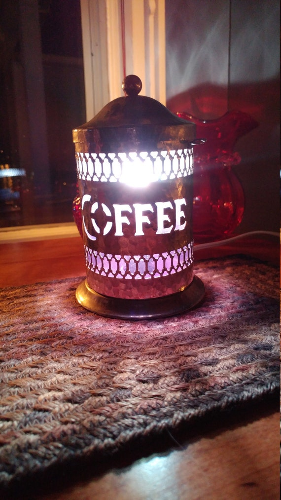 Coffee container light