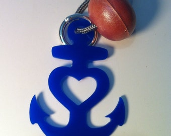 And yet the heart keychain