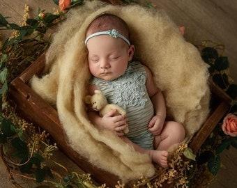 Basket Filler Blanket Newborn Baby Ready To Ship Photo Prop Boy Mat Infant Girl FLUFF Navy Photography Stuffer Layer Organic Neutral Brown