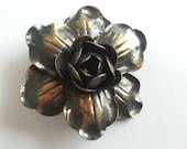 Vintage Rose Brooch, anti...