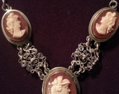 Cameo Trio Necklace with ...