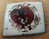 Abstract Enamel Pin, Vint...