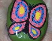 Hand Painted Butterfly Po...